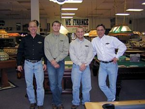 Cagle's Billiards employees group