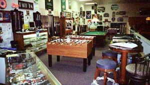Cagle's Billiards Showroom of billiard equipment & billiard supplies
