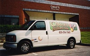 Cagle's Billiards Van
