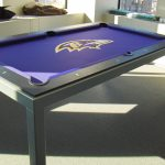 Baltimore Raven's Pool Table