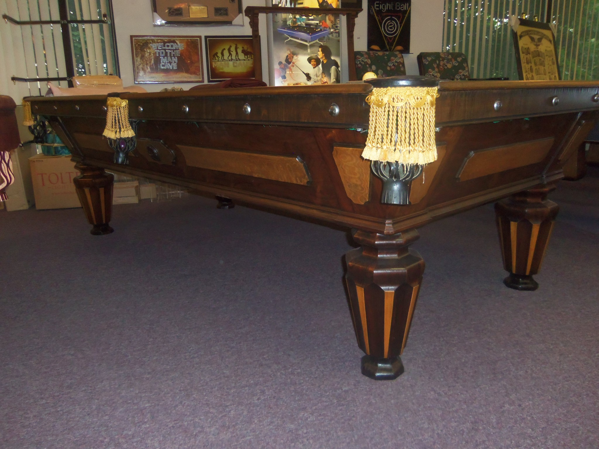 Vintage Pool Table ...