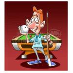 1464384-image-of-man-playing-pool-billiards-mesa-de-billar